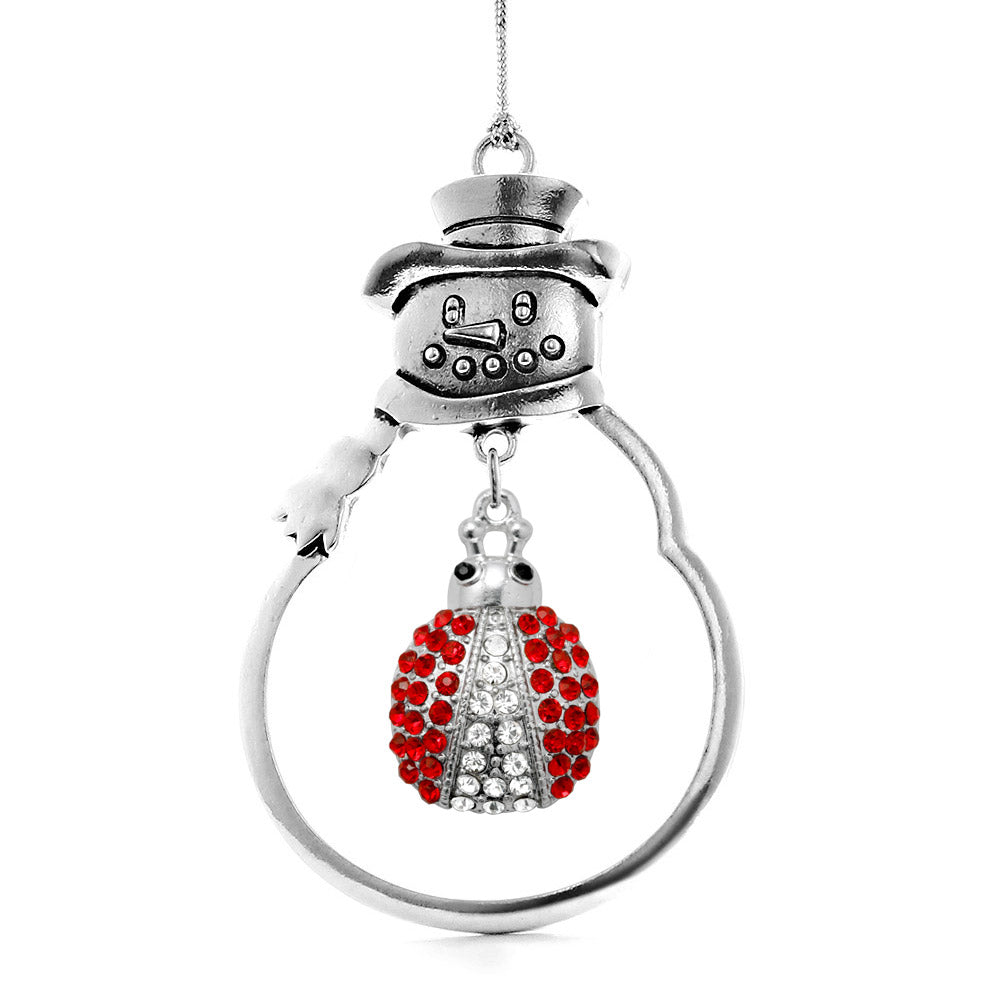 5.0 Carat Lady Bug Charm Christmas / Holiday Ornament