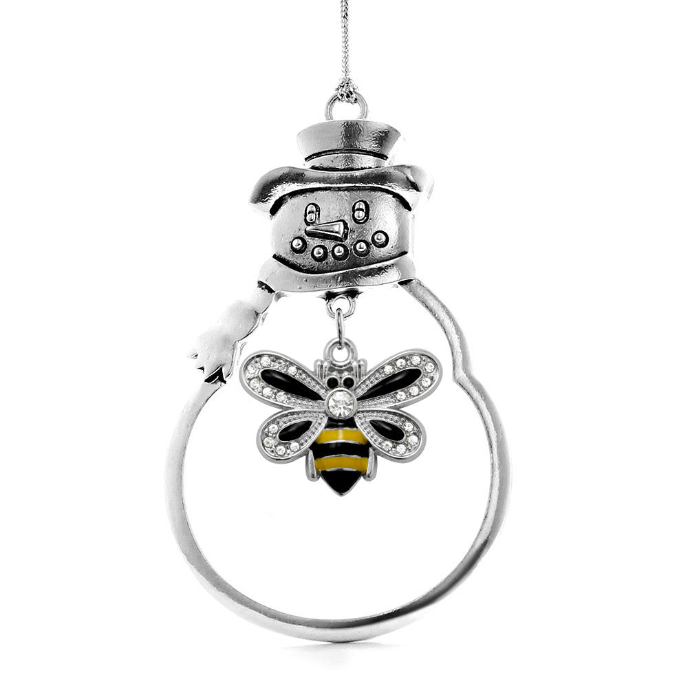 1.0 Carat Bumble Bee Charm Christmas / Holiday Ornament