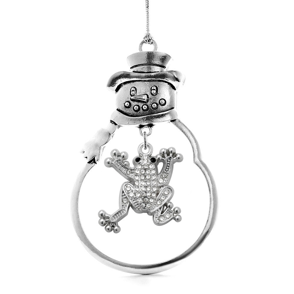 1.0 Carat Frog Charm Christmas / Holiday Ornament