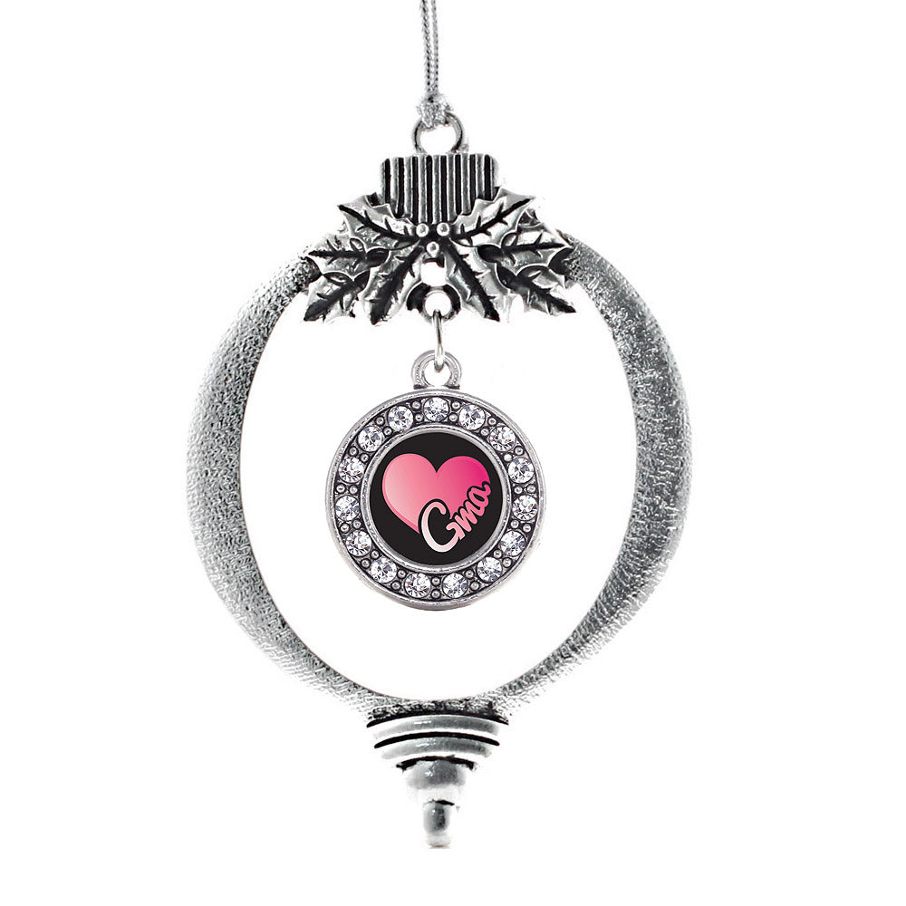 Gma Circle Charm Christmas / Holiday Ornament