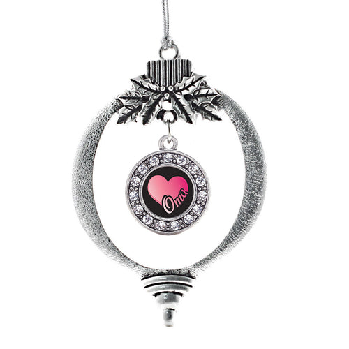 Oma Circle Charm Christmas / Holiday Ornament