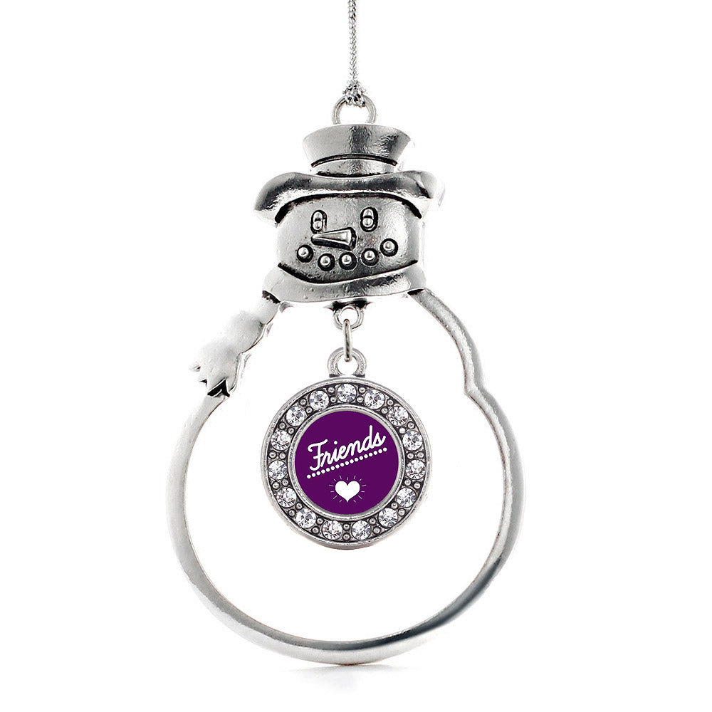 Best Friends - FRIENDS Circle Charm Christmas / Holiday Ornament