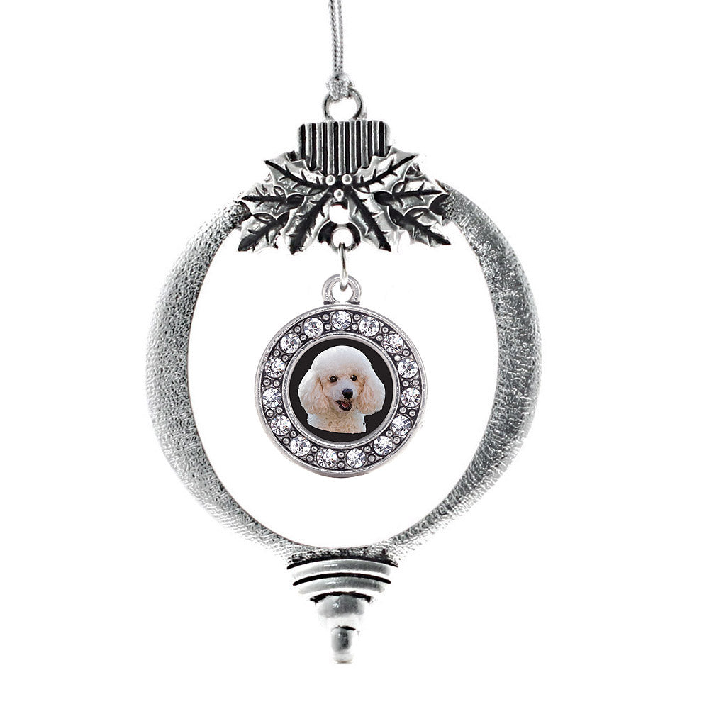 The Poodle Circle Charm Christmas / Holiday Ornament