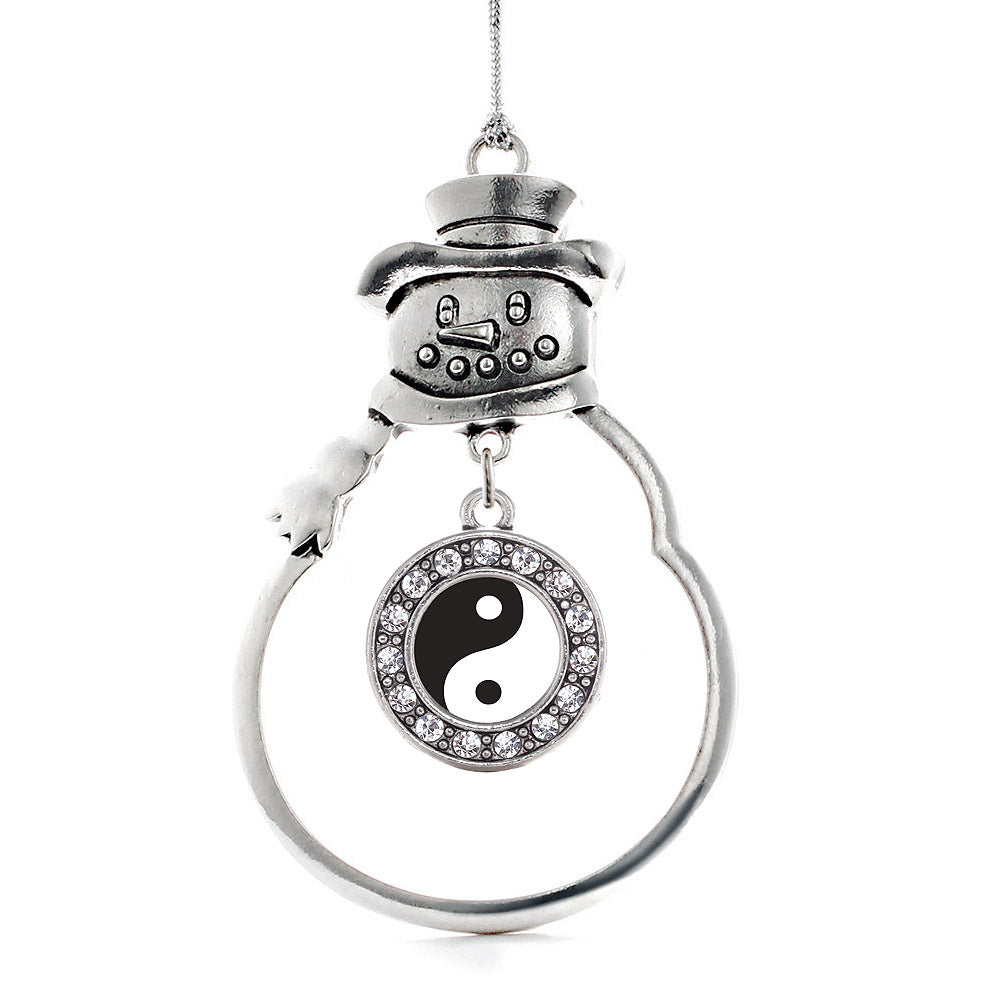 Yin- Yang Circle Charm Christmas / Holiday Ornament