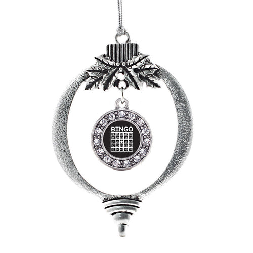 Bingo Circle Charm Christmas / Holiday Ornament