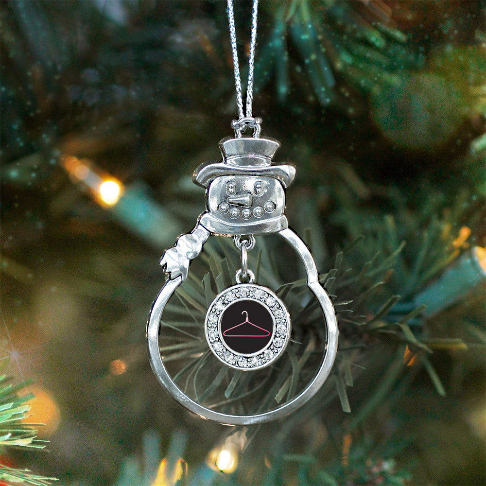 Retail Circle Charm Christmas / Holiday Ornament