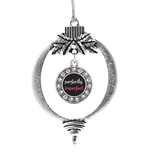 Perfectly Imperfect Circle Charm Christmas / Holiday Ornament