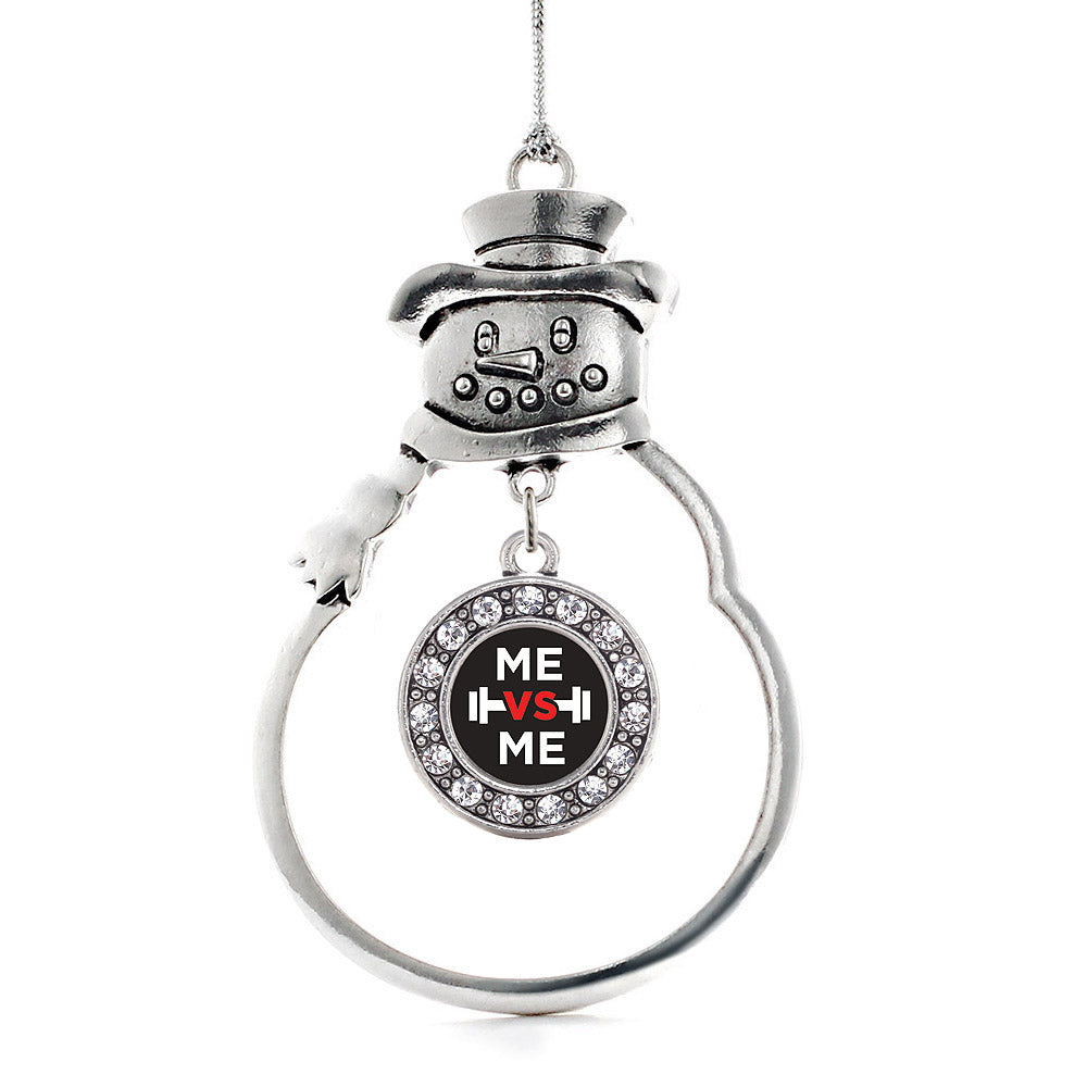 Me vs Me Circle Charm Christmas / Holiday Ornament