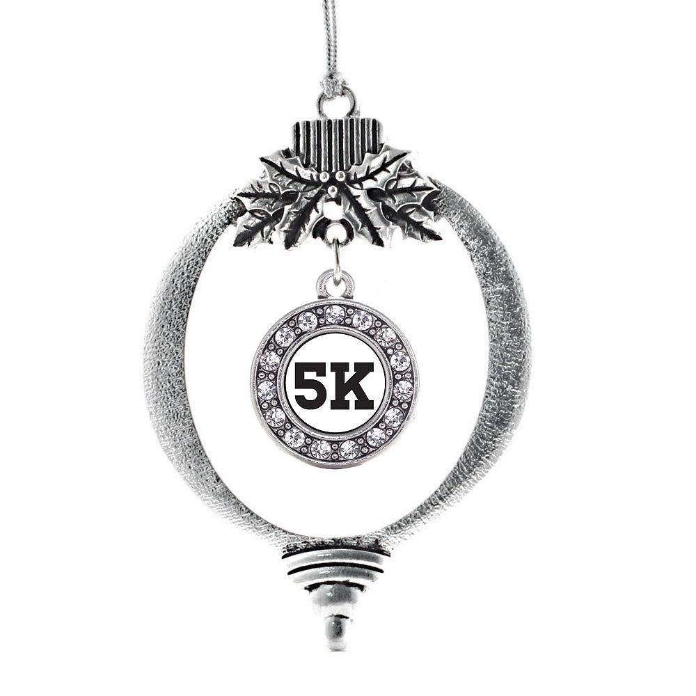 5k Runners Circle Charm Christmas / Holiday Ornament
