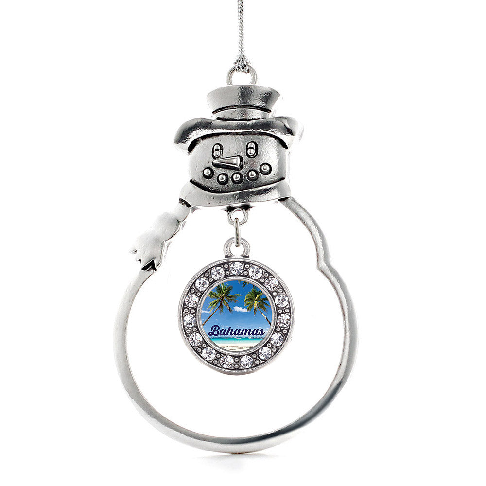 Bahamas Circle Charm Christmas / Holiday Ornament