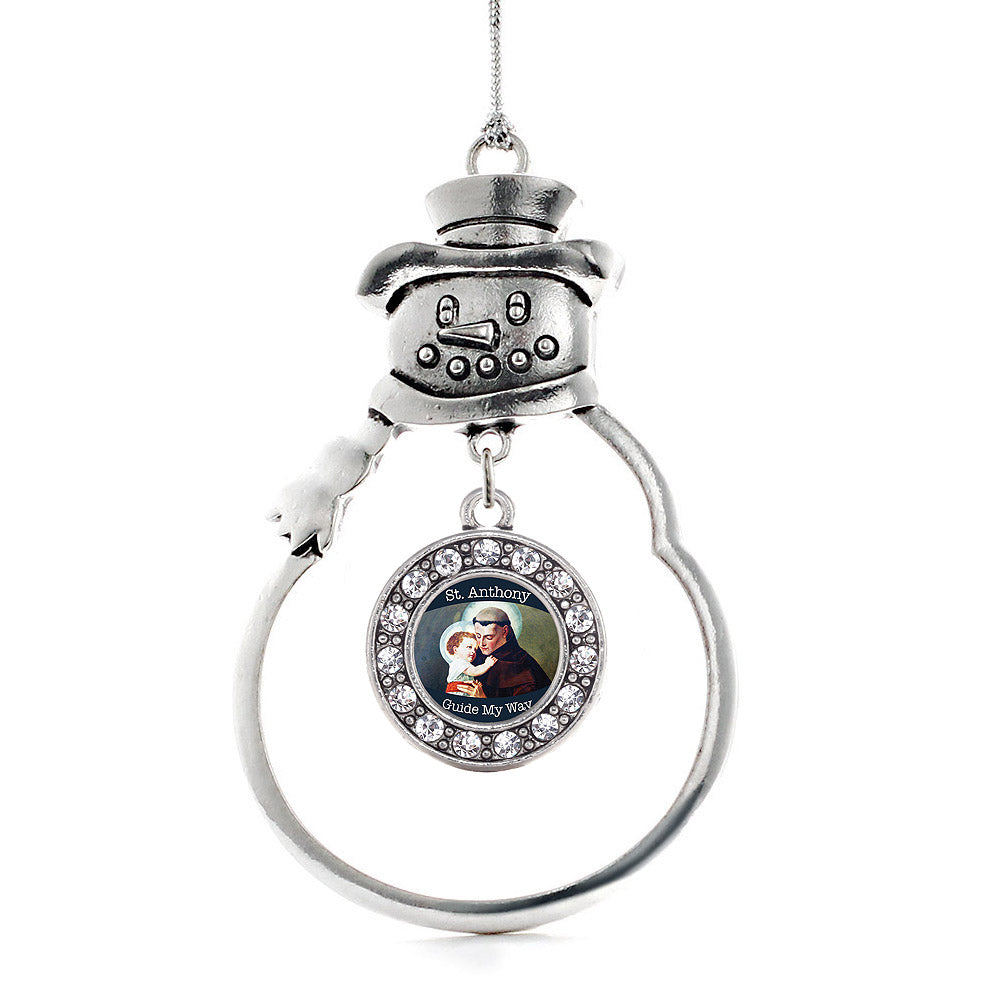 St. Anthony Circle Charm Christmas / Holiday Ornament