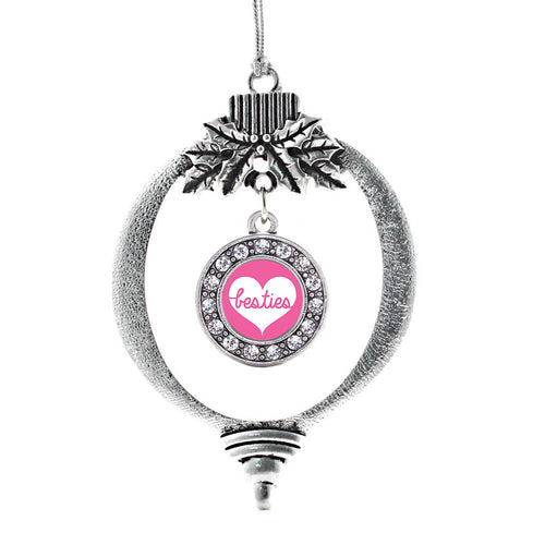 Besties Circle Charm Christmas / Holiday Ornament