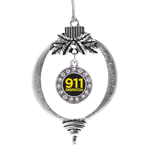 911 Dispatch Circle Charm Christmas / Holiday Ornament