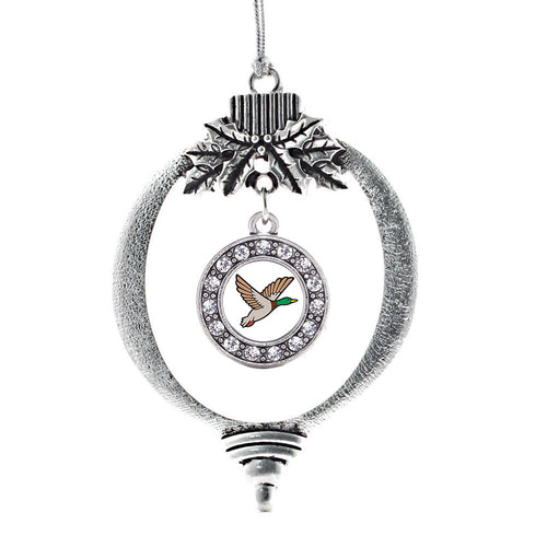 Duck Season Circle Charm Christmas / Holiday Ornament