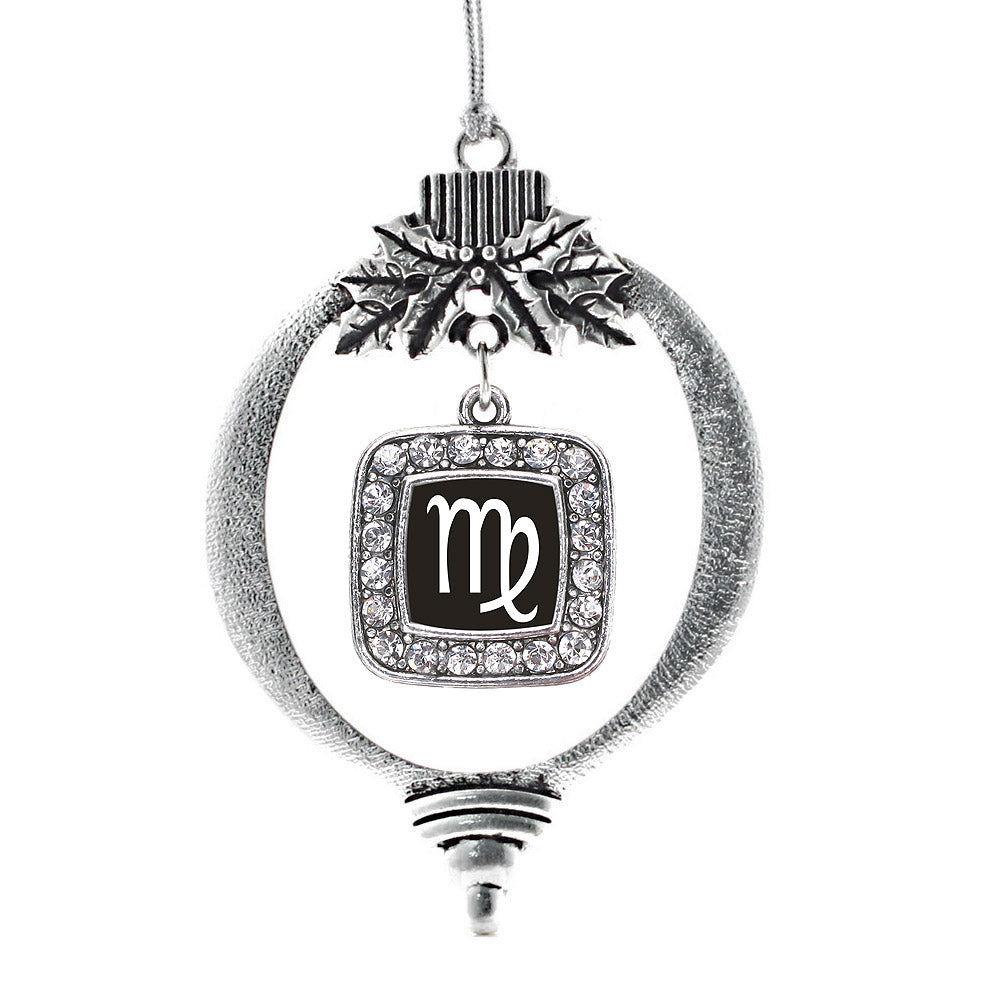 Virgo Square Charm Christmas / Holiday Ornament