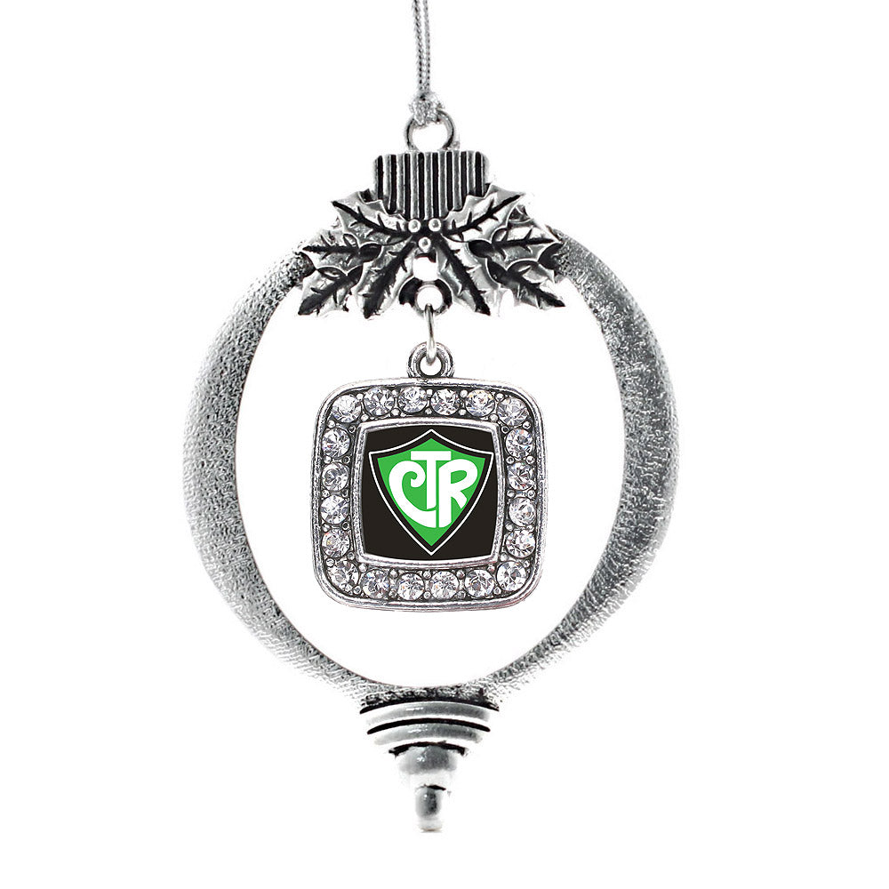 CTR Square Charm Christmas / Holiday Ornament