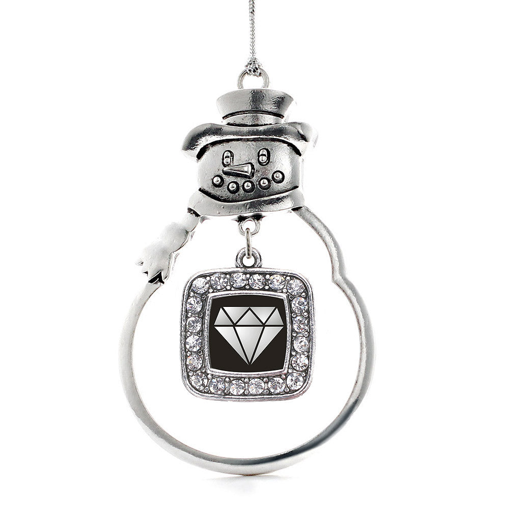 Diamond Square Charm Christmas / Holiday Ornament