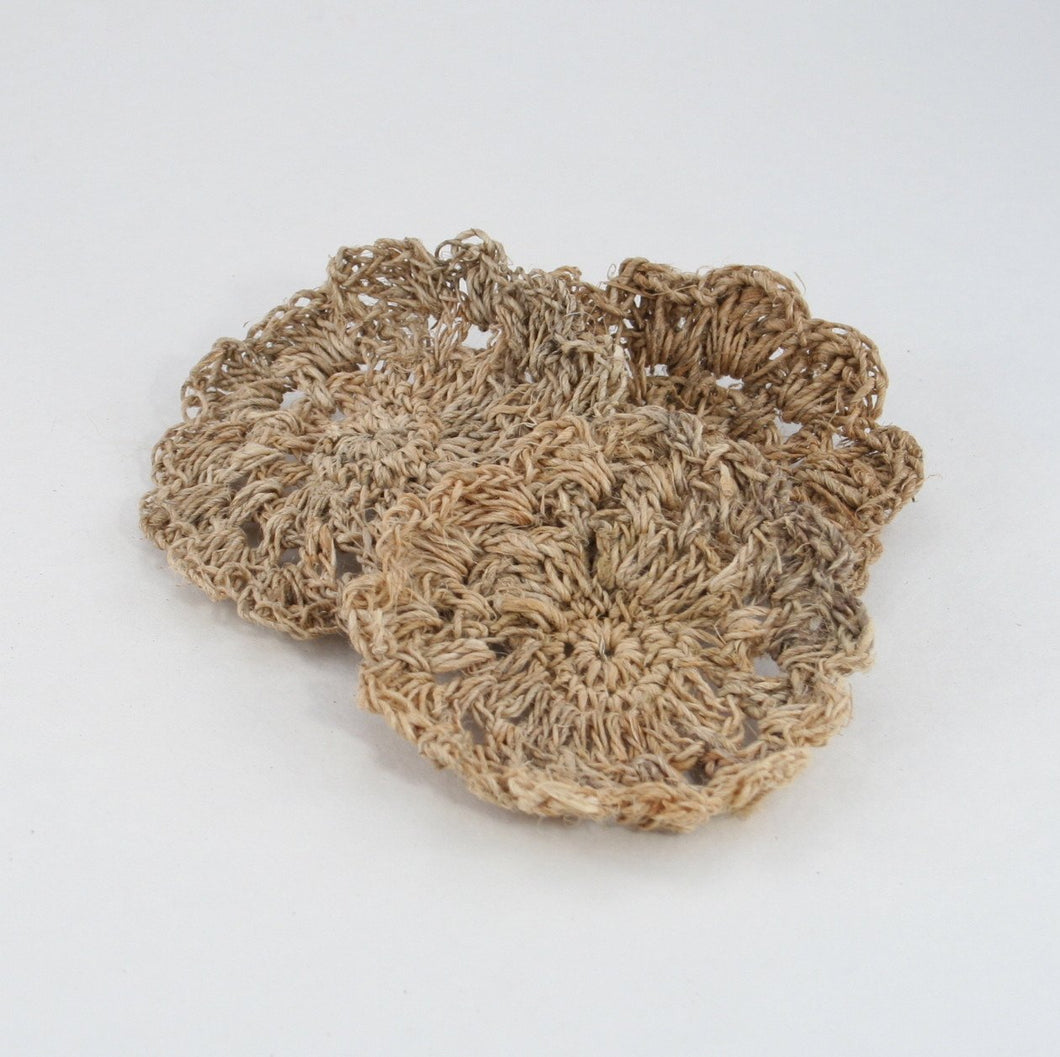 3 pack of Hemp Scrubbies