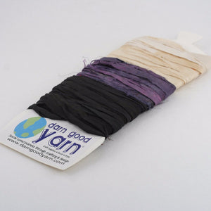 Yarn & Ribbon 3 Color Sample Cards - Night Out