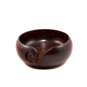 Teak Darn Good Yarn Bowl
