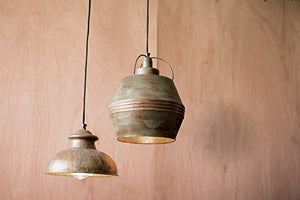 Kalalou Pendant No. 8 - Antique Rustic