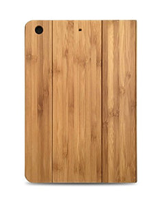 "Bamboo Wood iPad Folio Case for 2017 iPad 9.7"" - Natural, Durable Bamboo Wooden Eco-friendly Design (Bamboo)"