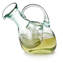 Kalalou Tilted Wine Decanter with Ice Pocket