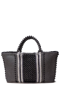 Telti Jerru Black & Grey Tote