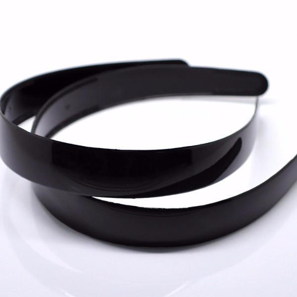 12PCs Black Plastic Hairband Headband 38cm(15