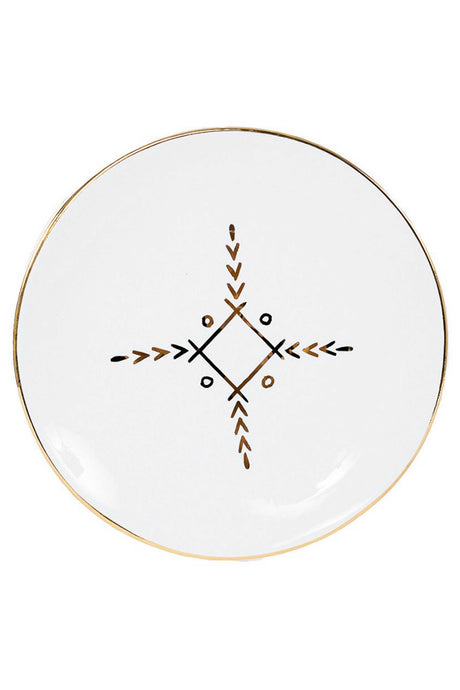 Berbere Gold Ceramic Dinner Plates