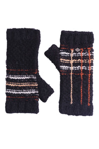 Camp Alpaca Fingerless Gloves