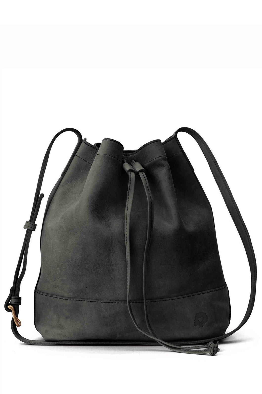 Tadesse Black Bucket Bag