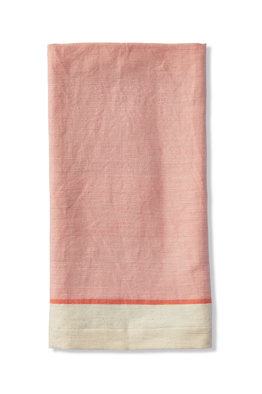 Pink Ethiopian Cotton Beach Towel