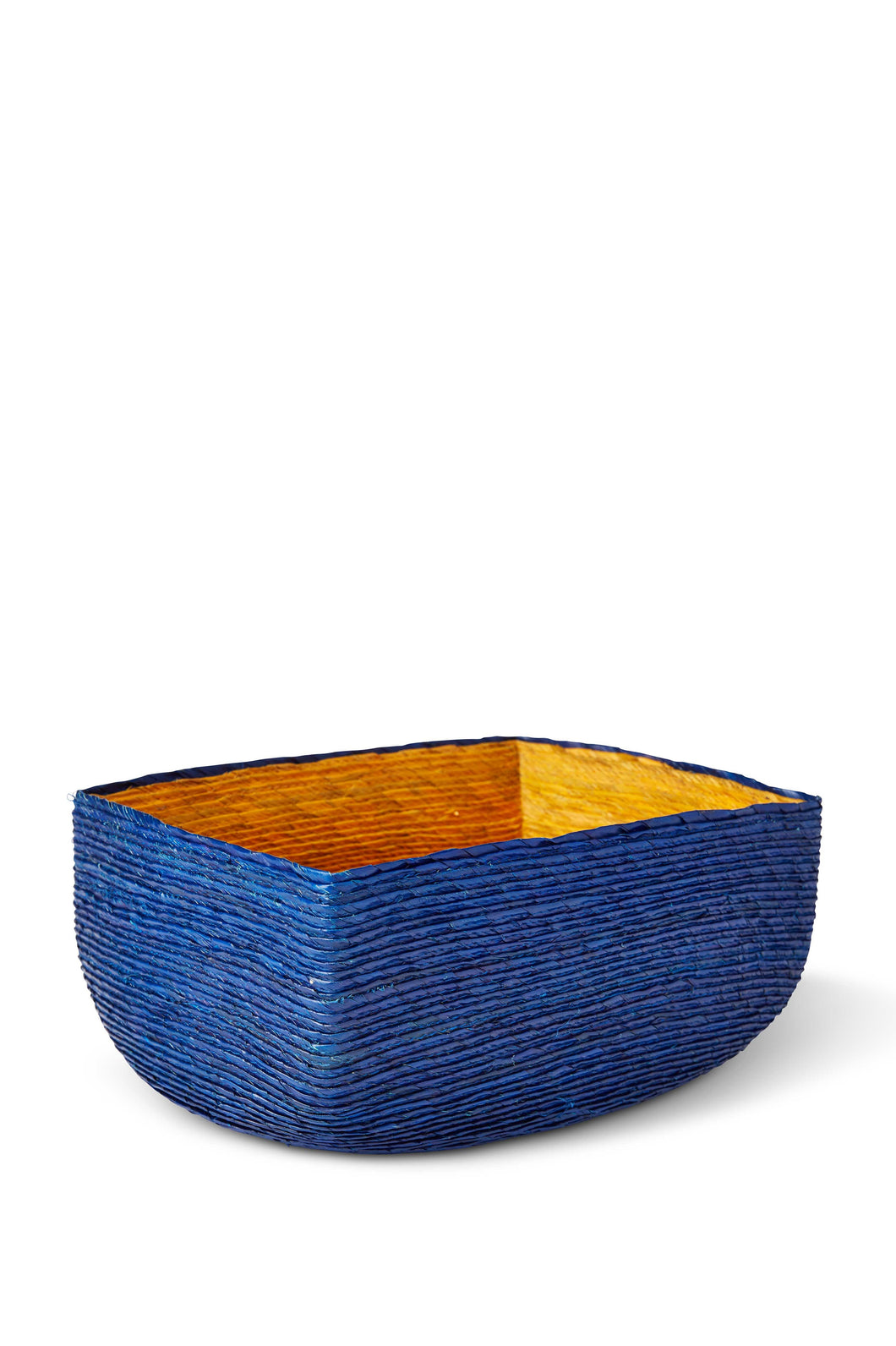 Small Palm Leaf Rectangular Basket