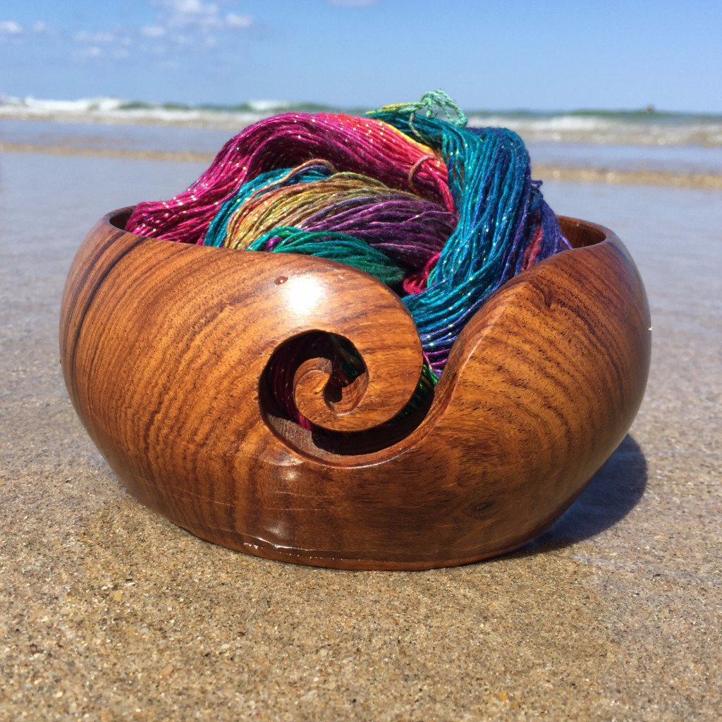 Darn Good Yarn - Handmade Wooden Yarn Bowl