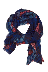 Demain Floral Scarf