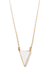 Tatu Triangle Bone Necklace
