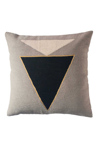 Midnight Jewel B&W Pillow