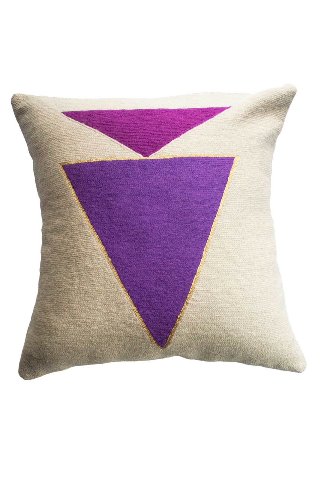 Midnight Jewel Plum Pillow