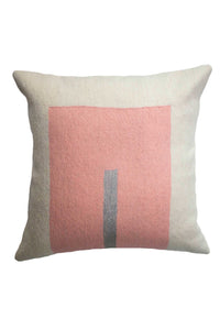 Pink Daphne Square Pillow