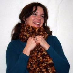 Easy Wool Scarf Knit Pattern - Digital Download