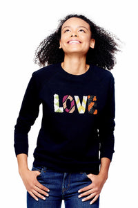 LOVE Beaded Sweatshirt