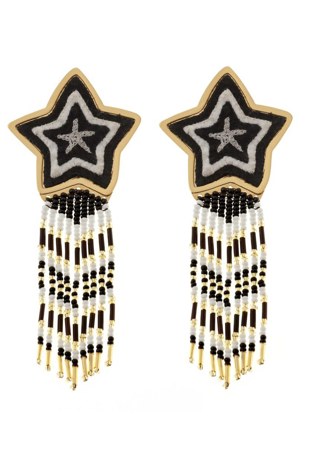 Estrella Black Earrings