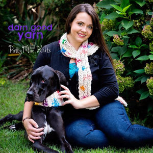 Celebration Scarf and Canine Cowl Knit Kit