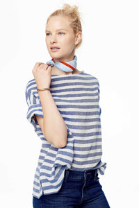 *Exclusive Huipile Stripe Top