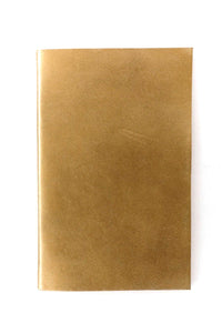 Gold Leather Journal