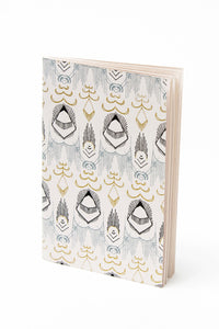 Uzma Recycled Cotton Desert Sky Journal