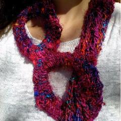 A Roundabout Way Scarf EASY Crochet Pattern