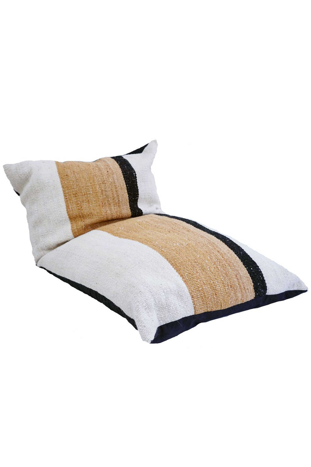 Sendero Handwoven Colorblock Floor Cushion