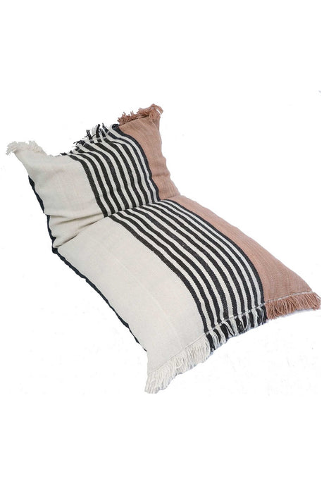 Sendero Handwoven Striped Floor Cushion